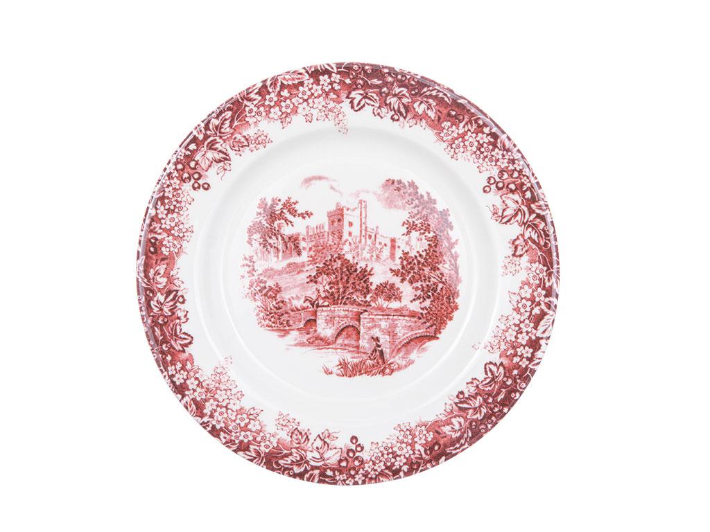 Lavien Porselen 12 Parça Yemek Takımı 17 Cm - 20 Cm - 26 Cm Bordo