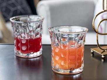 Boby Cam 4'lü Meşrubat Bardağı 300 Ml Şeffaf