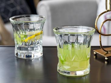 Rachel Cam 4'lü Meşrubat Bardağı 300 Ml Şeffaf