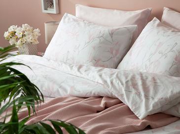 Magnolia Dream Pamuk Tek Kişilik Nevresim Takımı 160x220 Cm Açık Pembe