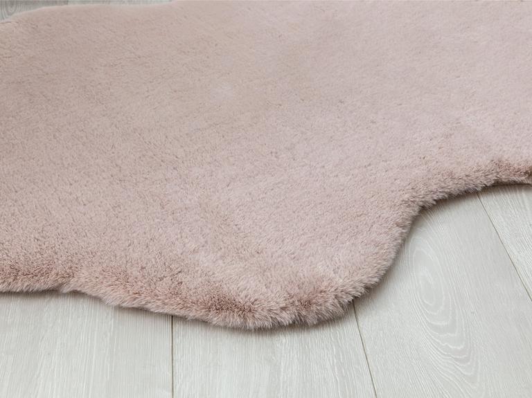 Rabbit Polyester Post 90X150 Cm Pudra