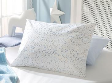 Mını Dots Pamuklu Bebe Yastık Kılıfı 35X45 Cm Mavi