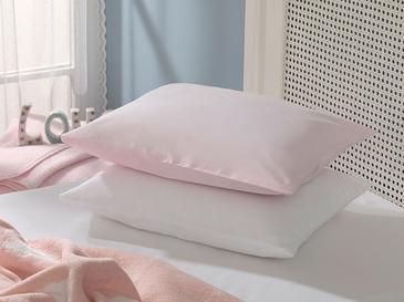 Soft Pamuklu . Bebe Yastık Kılıfı 35X45 Cm Pembe