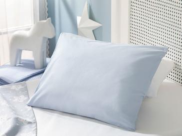 Soft Pamuklu Bebe Yastık Kılıfı 35x45 Cm Mavi