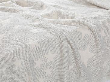 Baby Stars Jakarlı Bebe Pike 80x120 Cm Gri