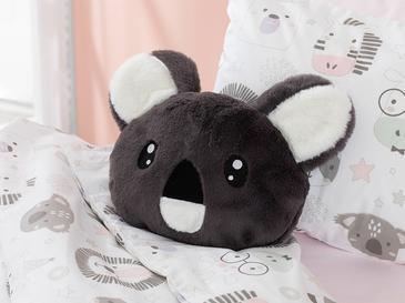 Baby Koala Dekoratif Yastık 32x30 Gri
