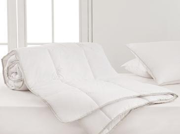 Natural Aloevera Tek Kişilik Yorgan 155x215 Cm Beyaz