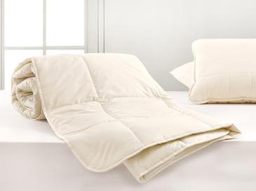 Layna Yıkanabilir Yün King Size Yorgan 215x235 Cm Beyaz