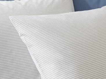 Stripe Pamuklu Yastık Kılıfı 50x70 Cm Mavi