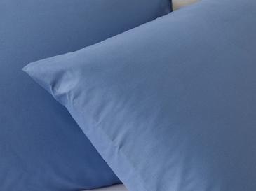 Düz Pamuklu 2'li Yastık Kılıfı 50x70 Cm Derin Mavi