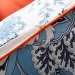 Boho Jacobean Kırlent Kılıfı 45x45 Cm Mavi
