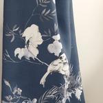Tual Ayarlanabilir Mutfak Önlüğü 65x75 Beyaz - Mavi