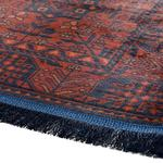 Eliza Kadife Halı 160x230 Cm Kırmızı - Lacivert