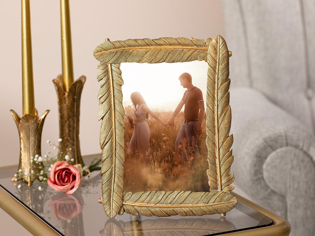 Pretty Romance Çerçeve 18,3x23,5x1,8 Cm Gold