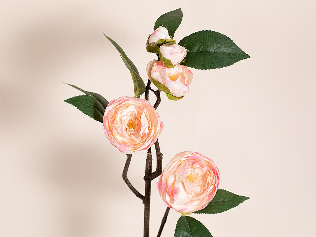 Freesia Kumaş Yapay Çiçek 66 Cm Açık Pembe