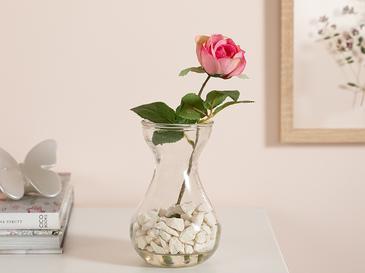 Cypress Kumaş Yapay Çiçek 20 Cm Pembe