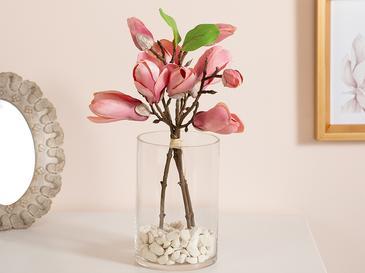 Corolla Kumaş Tek Dal Yapay Çiçek 28 Cm Pembe