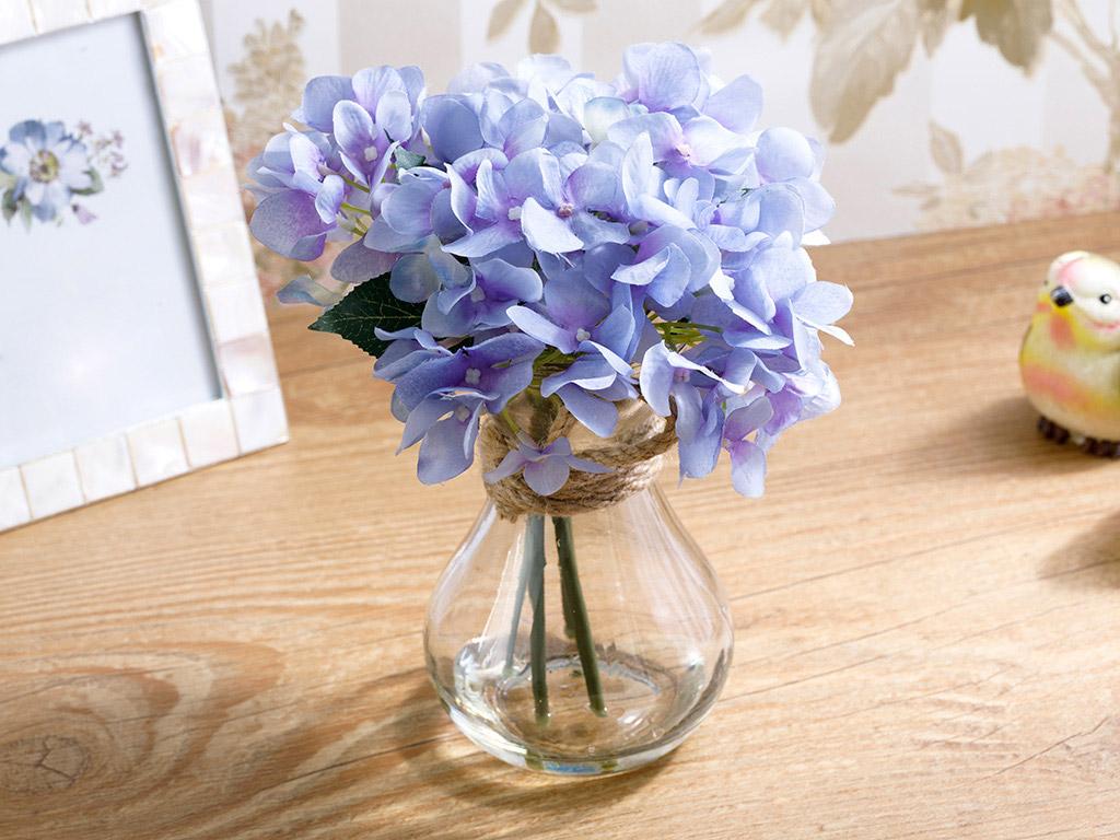 Alya Vazolu Yapay Çiçek 20 Cm Mor