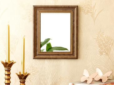Etnich Ayna 25x30 Cm Kahverengi