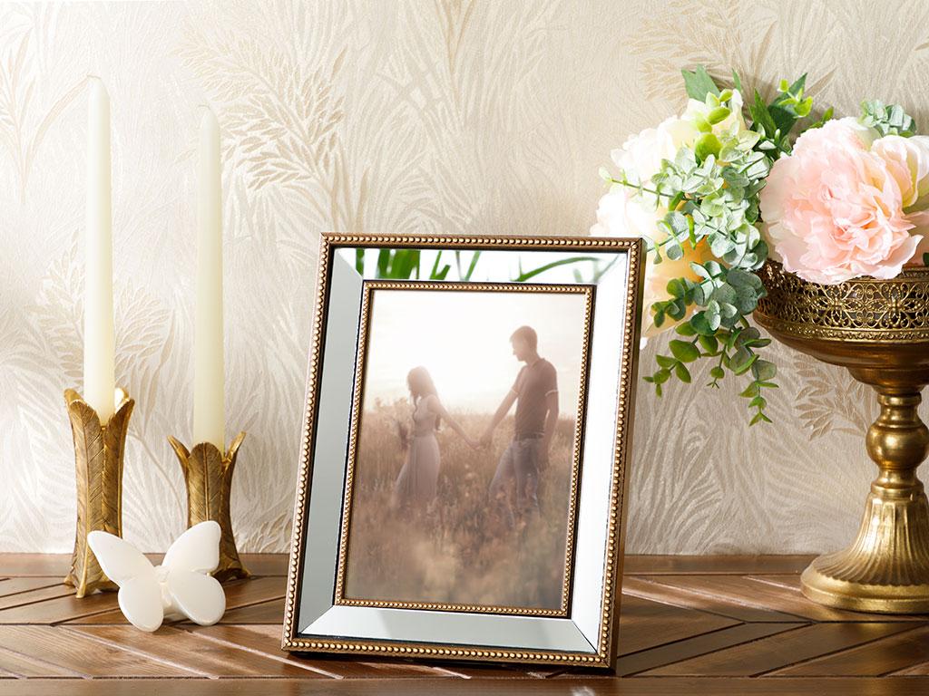 Mirror Stage Çerçeve 15x21 Cm Bronz