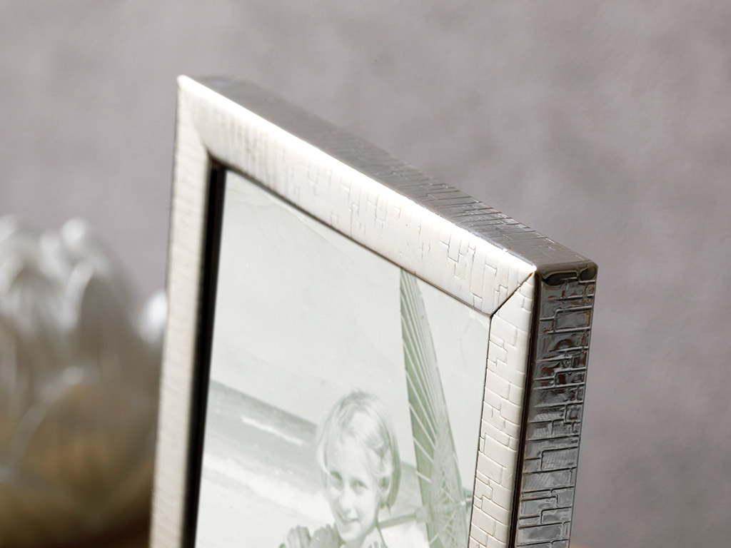 Bloom Çerçeve 10x15 Cm Gümüş