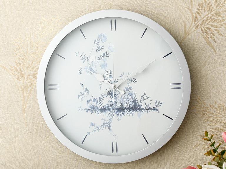 Tual Plastik Duvar Saati 30 Cm Gümüş