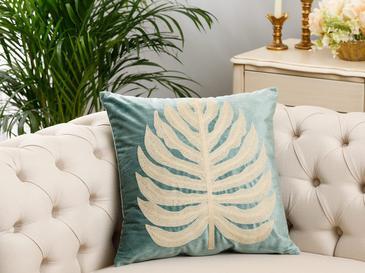Pure Palm Kadife Kırlent Kılıfı 45x45 Cm Seledon