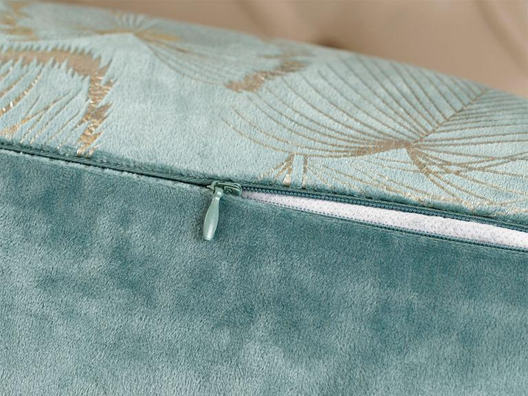 Magnolia Kadife Kırlent Kılıfı 45x45 Cm Seledon
