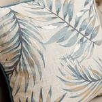 Palm Trees Keten Kırlent Kılıfı 45x45 Cm Bej