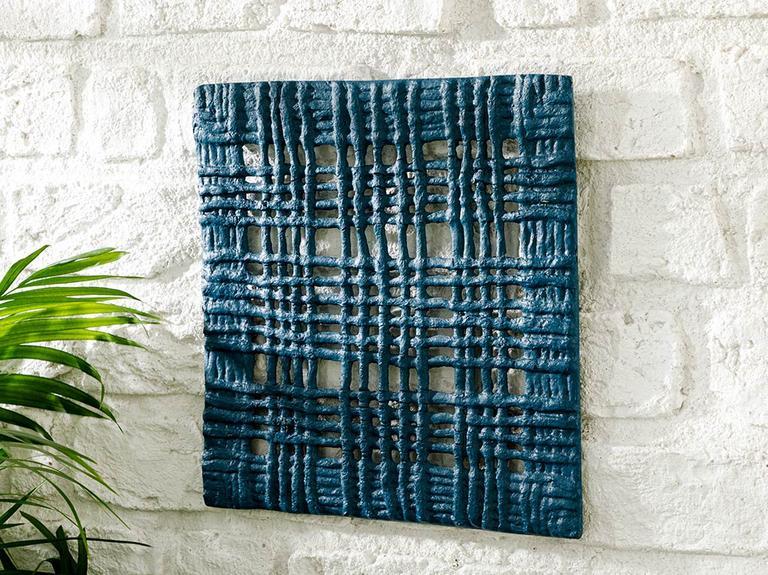 Dripping Tablo 30x30x2,5 Cm Mavi