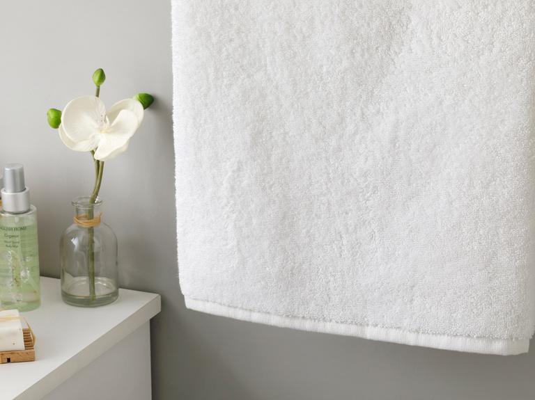 White Collection Yüz Havlusu 50x90 Cm Beyaz