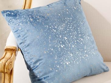 Shiny Kadife Kırlent Kılıfı 45x45 Cm Mavi