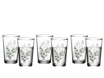 Rosses Cam 6'lı Kahve Yanı Su Bardağı 100 Ml Yeşil