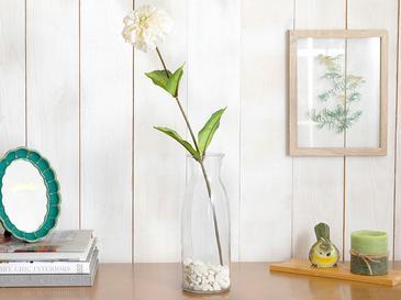 Dahlia Yapay Çiçek 53 Cm Krem