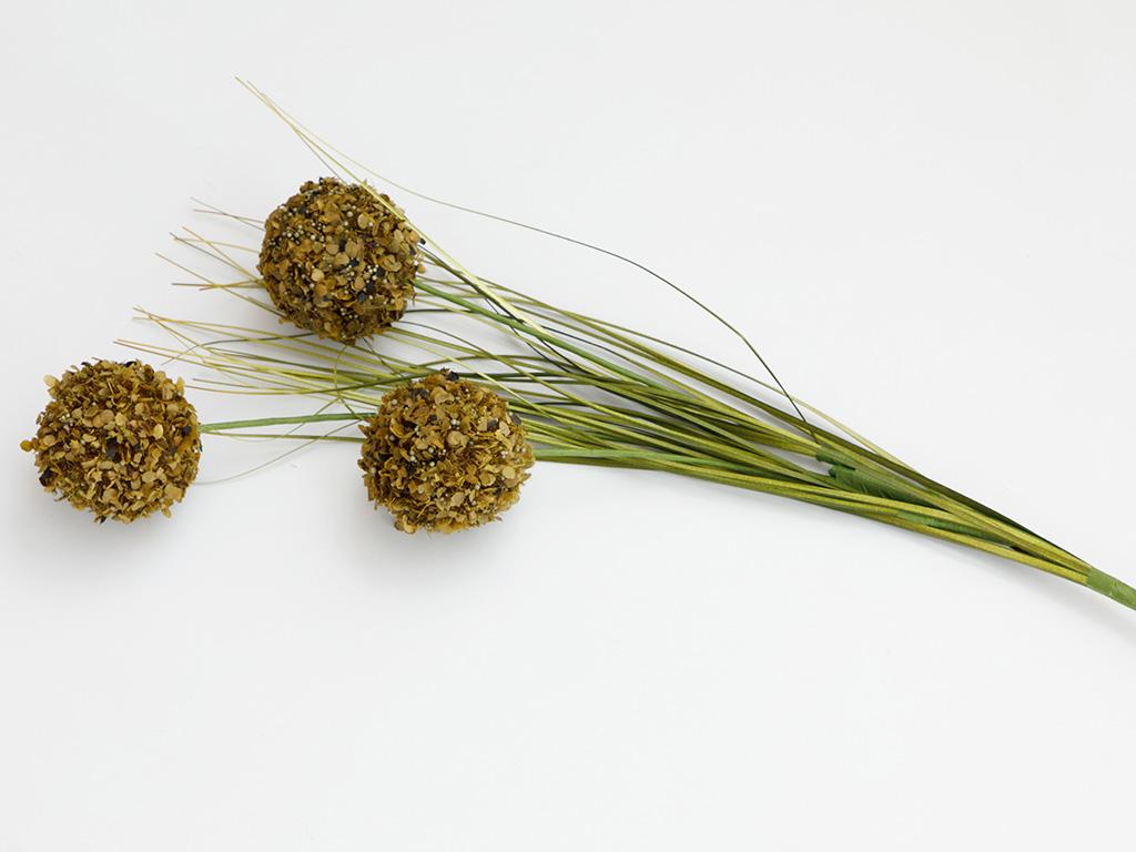 Grass Bush Yapay Çiçek 67 Cm Yeşil