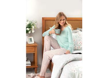 Urban Liberty Viskon Bayan Pijama Takımı S Pembe
