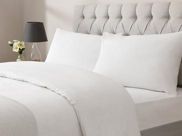 White Collection Cotton Tek Kişilik Nevresim Takımı 160x220 Cm Beyaz