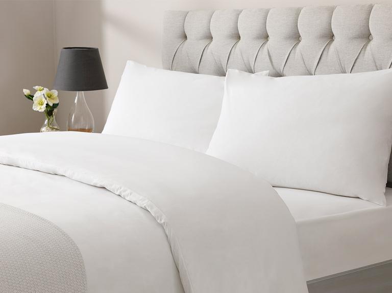 White Collection Cotton Çift Kişilik Nevresim Takımı 200x220 Cm Beyaz
