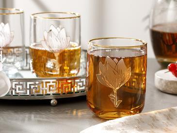 Magnolia Cam 3'lü Meşrubat Bardağı 270 Ml Şeffaf