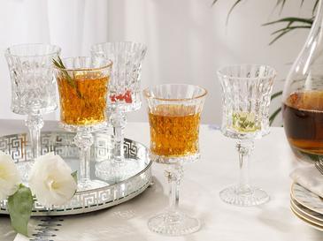Talisya Cam 6'lı Su Bardağı 130 Ml Şeffaf