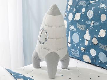 Space Dekoratif Yastık 36x19 Beyaz
