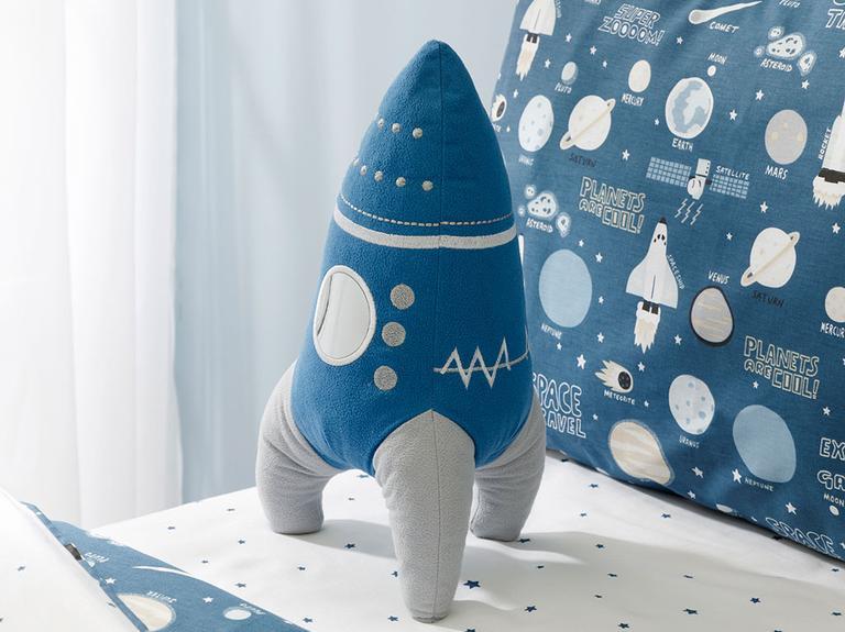 Space Dekoratif Yastık 36x19 Mavi