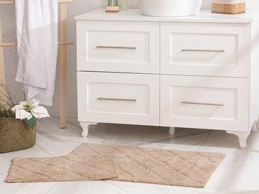 Gloria Banyo Paspası Seti 60X90-40X60 Cm Bej