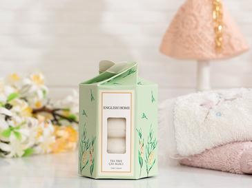 Çay Ağacı Özlü Katı Sabun 4x45 Gr Beyaz