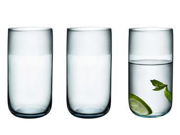 Bande Cam 3'lü Meşrubat Bardağı 365 Ml Seledon