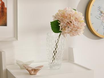 Hydrangea Kumaş Tek Dal Yapay Çiçek 33 Cm Açık Pembe