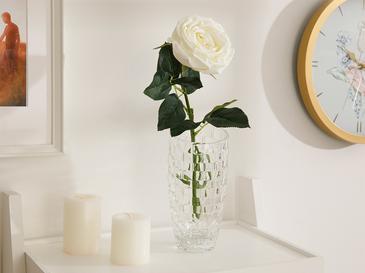 Adverse Kumaş Tek Dal Yapay Çiçek 62 Cm Beyaz