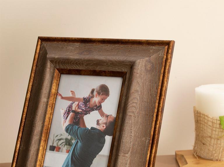 Romantique Çerçeve 10x15 Cm Kahverengi