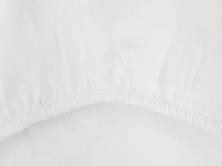 Crystal İpeksi Twill Tek Kişilik Nevresim Takımı 160x220 Cm Beyaz