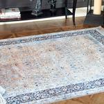 Silk Touch Mila Kadife Halı 160x230 Cm Hardal